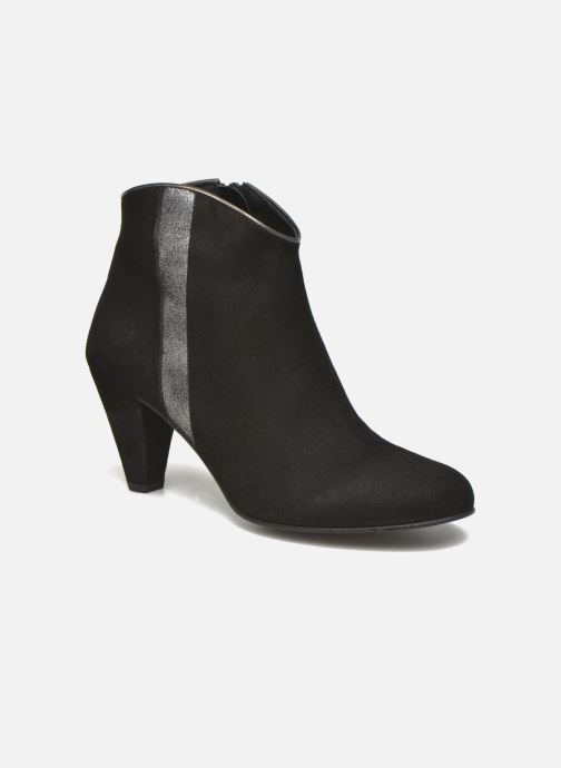 Ankle boots Georgia Rose Lolok Black detailed view/ Pair view