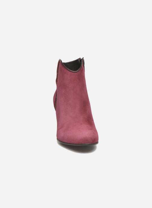 Boots en enkellaarsjes Georgia Rose Lolok Bordeaux model