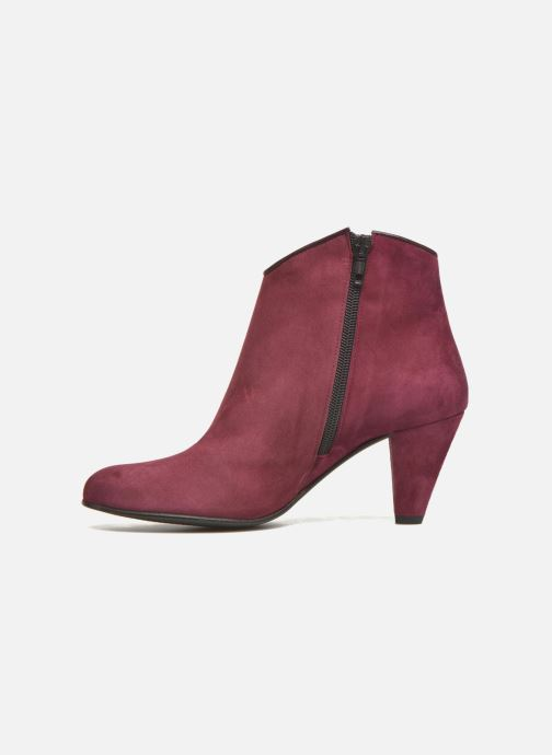 Boots en enkellaarsjes Georgia Rose Lolok Bordeaux voorkant