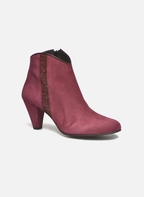 Boots en enkellaarsjes Georgia Rose Lolok Bordeaux detail