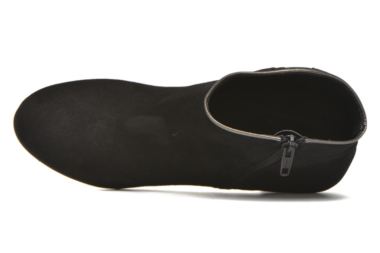 Bottines et boots Georgia Rose Lolok Noir vue gauche