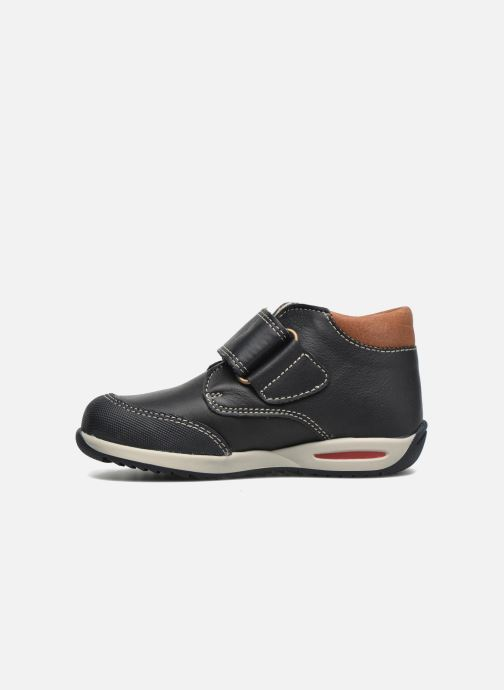 Zapatos con velcro Pablosky Antonio Azul vista de frente