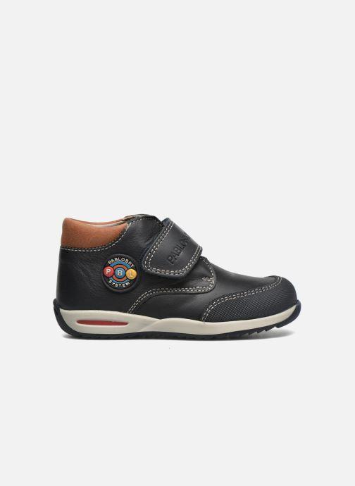 Chaussures à scratch Pablosky Antonio Bleu vue derrière