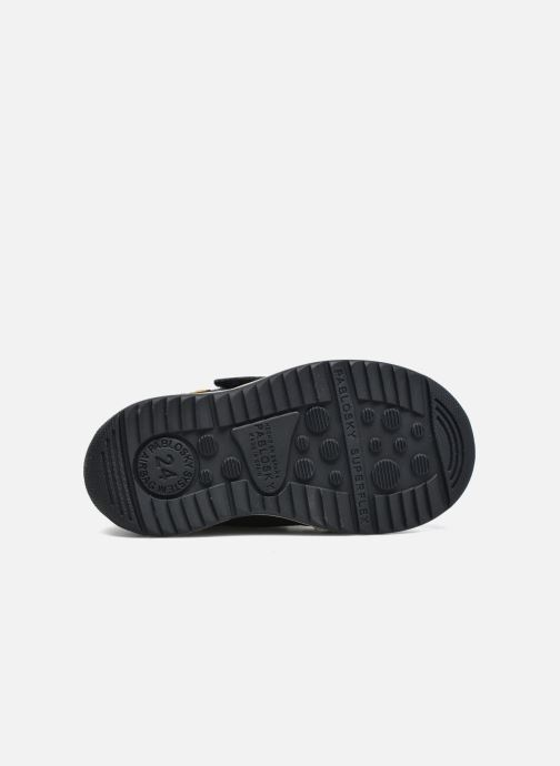 Zapatos con velcro Pablosky Antonio Azul vista de arriba