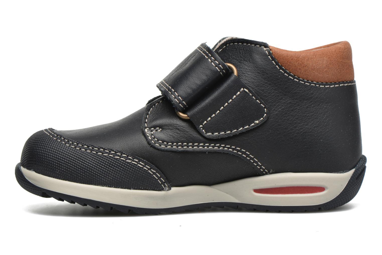 Chaussures à scratch Pablosky Antonio Bleu vue face