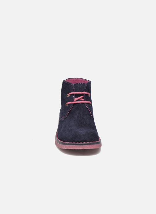 Chaussures à lacets Pablosky Camila Bleu vue portées chaussures