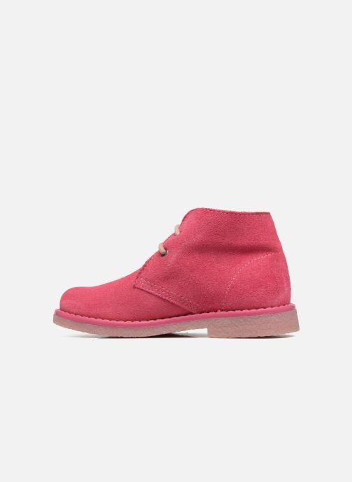 Zapatos con cordones Pablosky Camila Rosa vista de frente