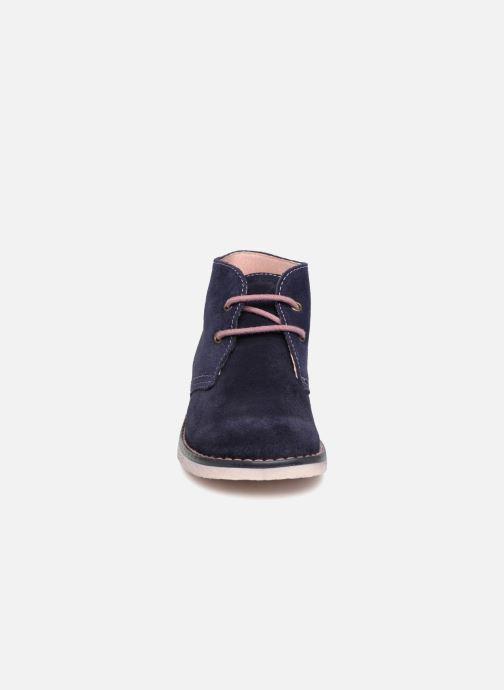 Zapatos con cordones Pablosky Camila Azul vista del modelo