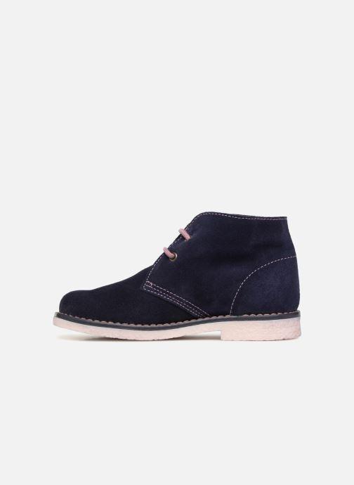Zapatos con cordones Pablosky Camila Azul vista de frente