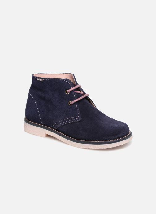 Zapatos con cordones Pablosky Camila Azul vista de detalle / par
