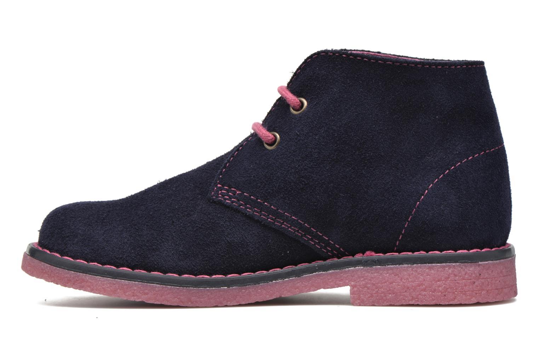 Chaussures à lacets Pablosky Camila Bleu vue face