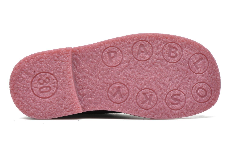 Chaussures à lacets Pablosky Camila Bleu vue haut