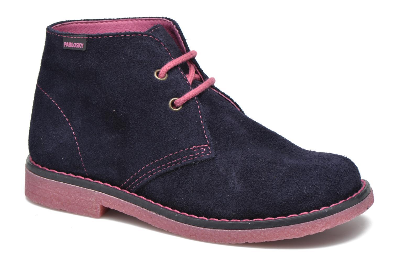 Chaussures à lacets Pablosky Camila Bleu vue détail/paire
