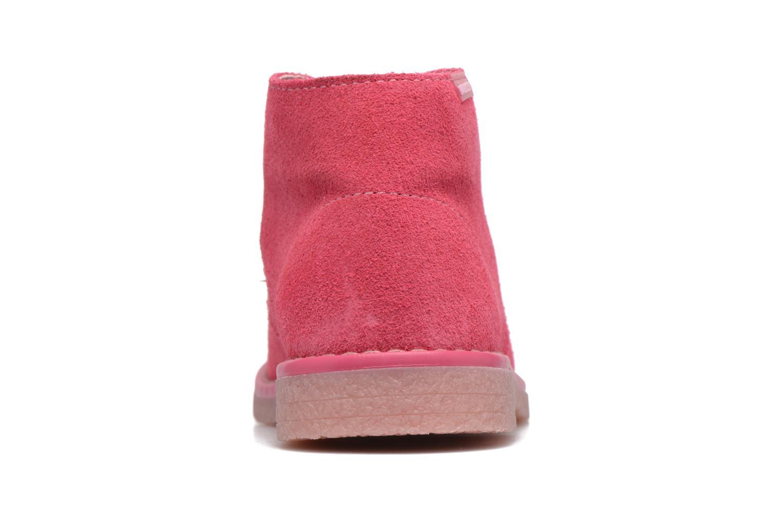 Chaussures à lacets Pablosky Camila Rose vue droite