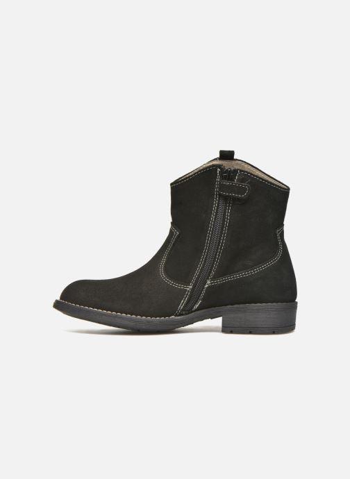 Bottines et boots Pablosky Daniela Noir vue face