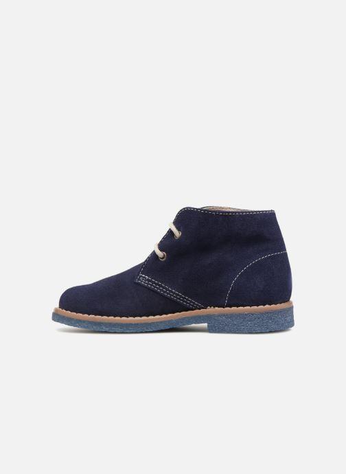 Chaussures à lacets Pablosky Camilo Bleu vue face