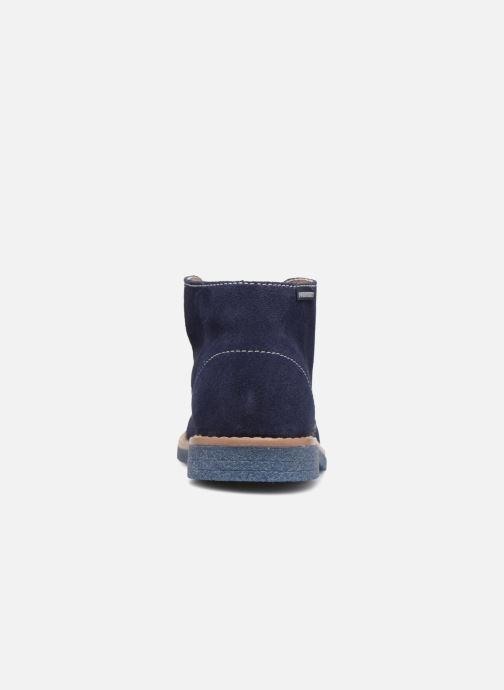 Chaussures à lacets Pablosky Camilo Bleu vue droite