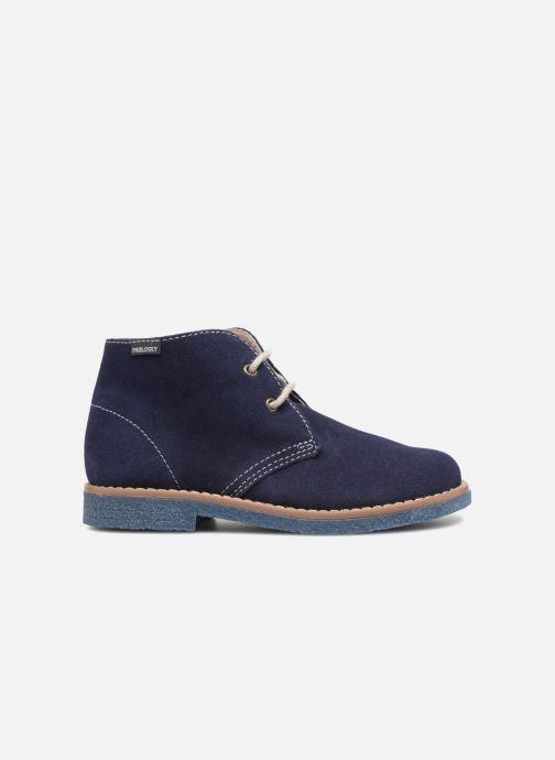 Chaussures à lacets Pablosky Camilo Bleu vue derrière
