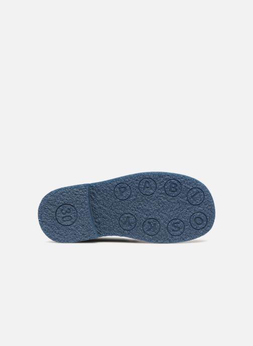 Chaussures à lacets Pablosky Camilo Bleu vue haut