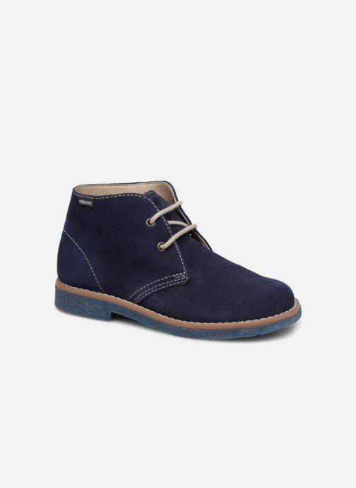 Chaussures à lacets Pablosky Camilo Bleu vue détail/paire