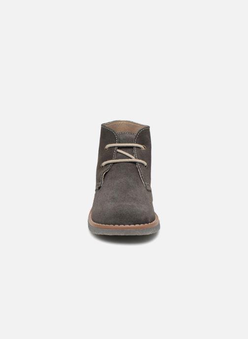 Chaussures à lacets Pablosky Camilo Gris vue portées chaussures