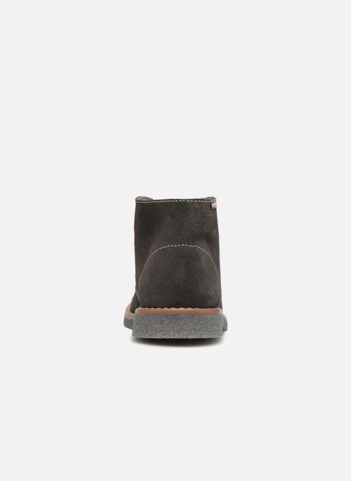 Zapatos con cordones Pablosky Camilo Gris vista lateral derecha