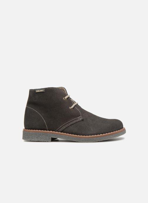 Zapatos con cordones Pablosky Camilo Gris vistra trasera