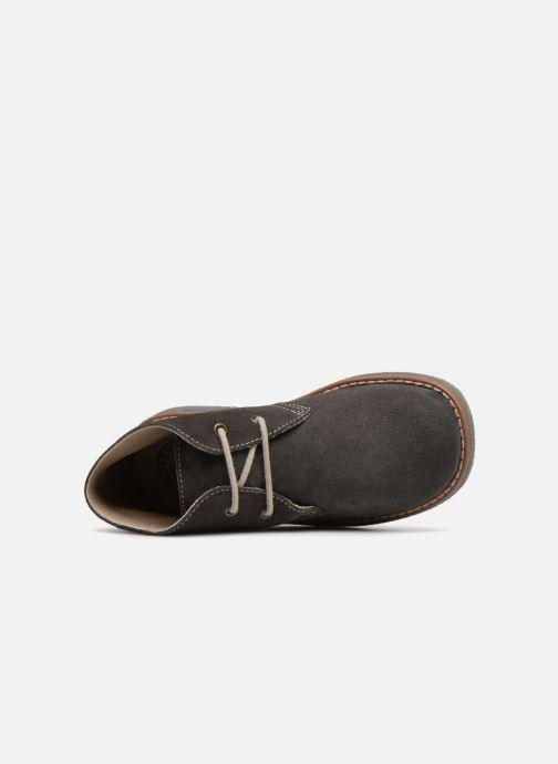 Zapatos con cordones Pablosky Camilo Gris vista lateral izquierda