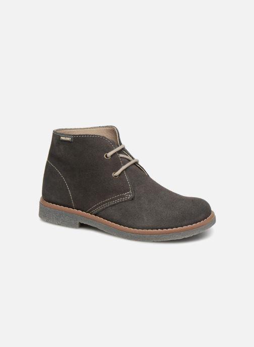 Chaussures à lacets Pablosky Camilo Gris vue détail/paire