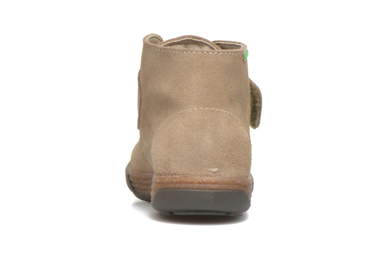 Bottines et boots Pablosky Fantino Beige vue droite