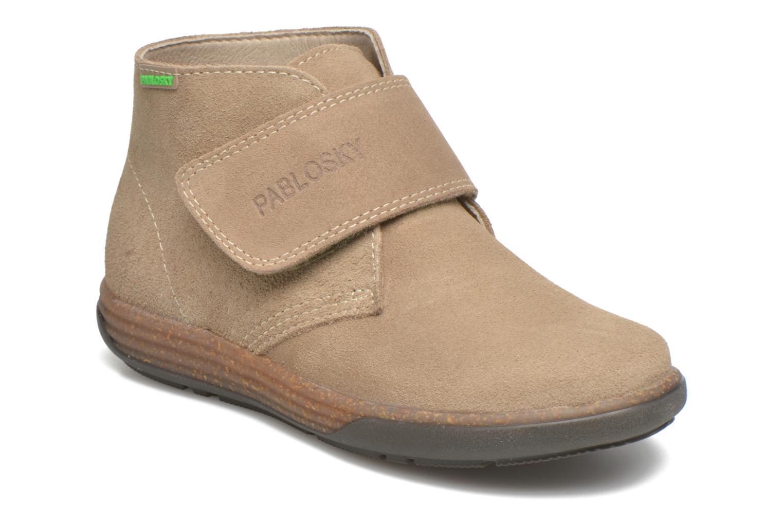 Bottines et boots Pablosky Fantino Beige vue détail/paire