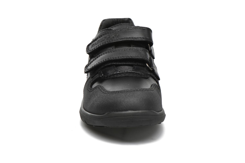 Chaussures à scratch Pablosky Huberto Noir vue portées chaussures
