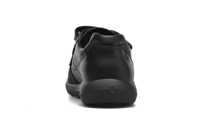 Chaussures à scratch Pablosky Huberto Noir vue droite