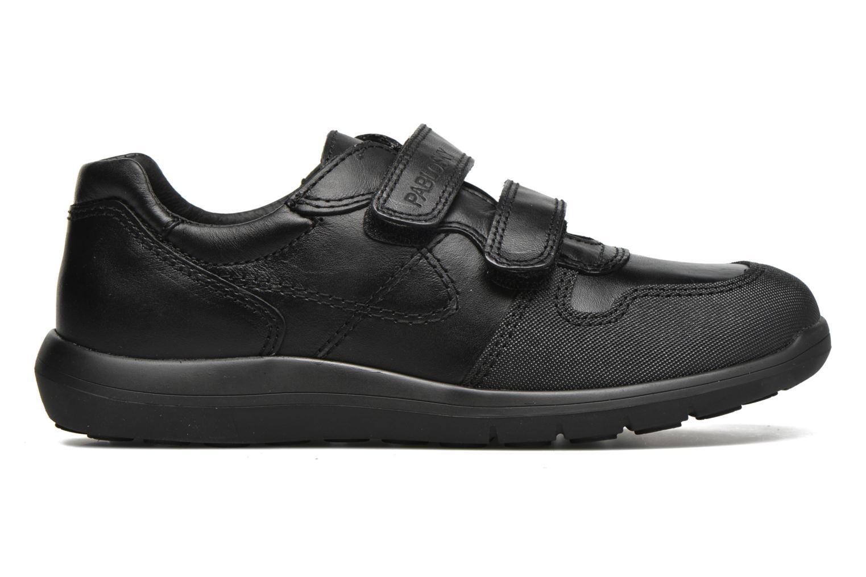 Chaussures à scratch Pablosky Huberto Noir vue derrière