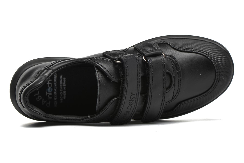 Chaussures à scratch Pablosky Huberto Noir vue gauche