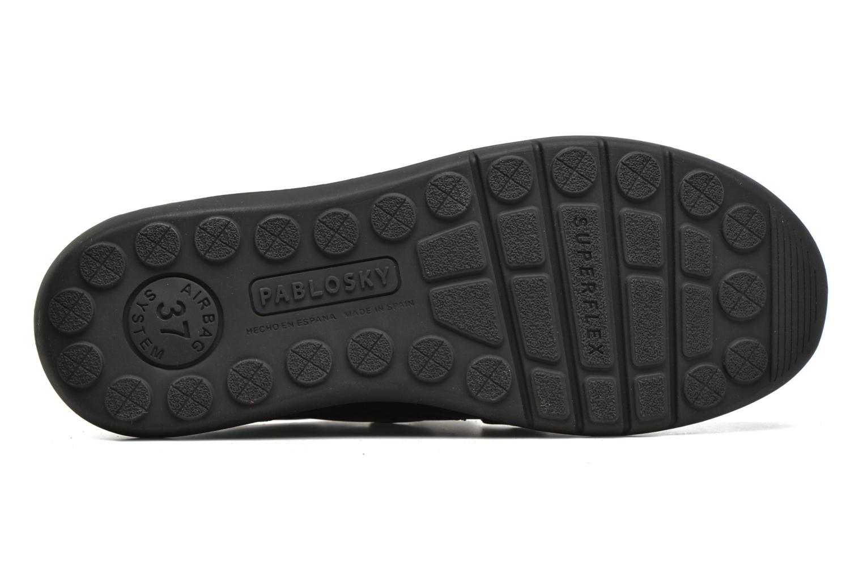 Chaussures à scratch Pablosky Huberto Noir vue haut