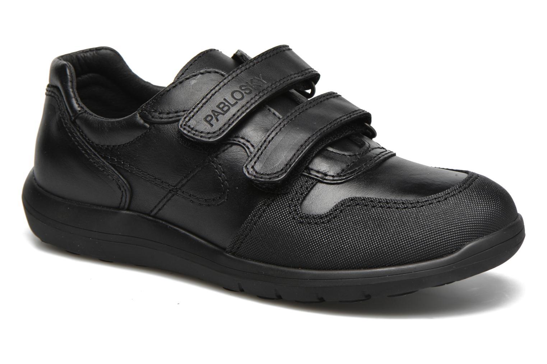 Chaussures à scratch Pablosky Huberto Noir vue détail/paire