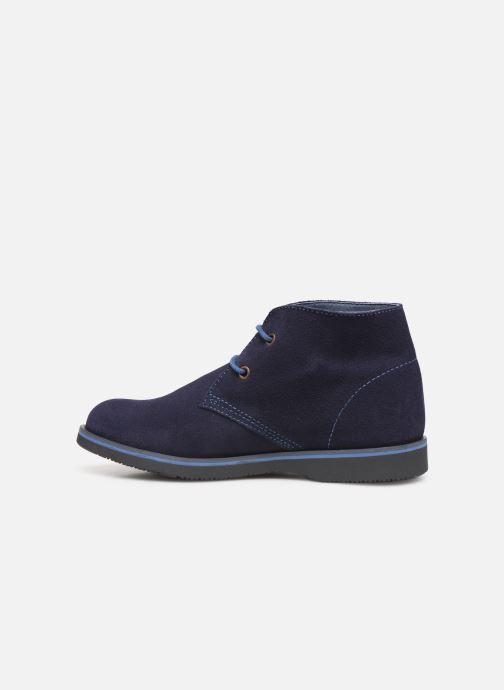 Zapatos con cordones Pablosky Pablo Azul vista de frente