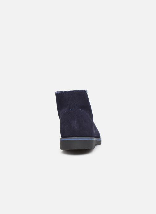 Chaussures à lacets Pablosky Pablo Bleu vue droite
