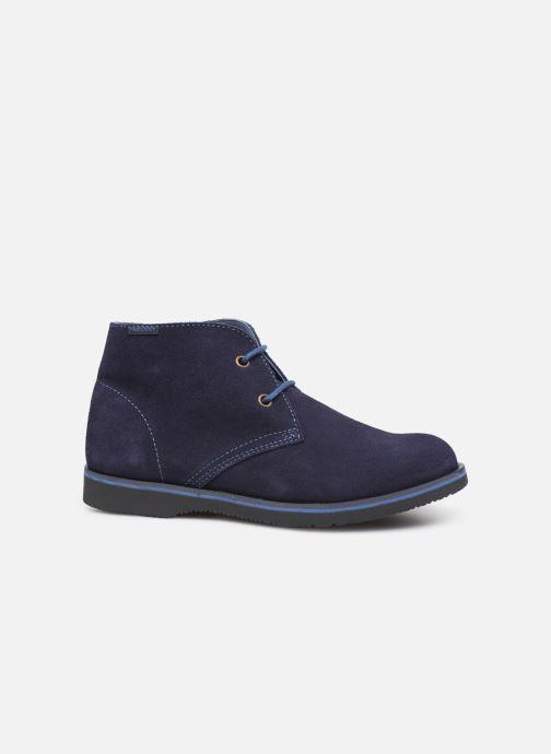 Zapatos con cordones Pablosky Pablo Azul vistra trasera