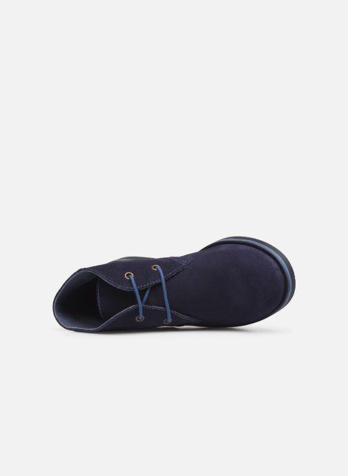 Zapatos con cordones Pablosky Pablo Azul vista lateral izquierda