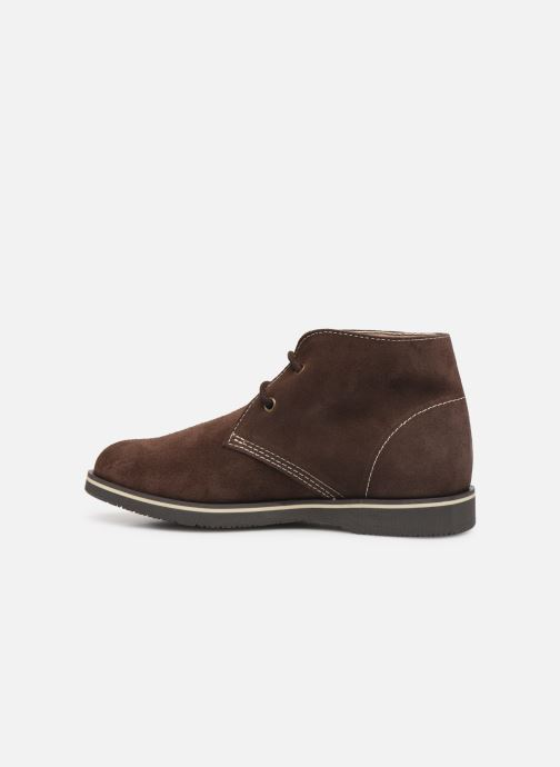 Chaussures à lacets Pablosky Pablo Marron vue face