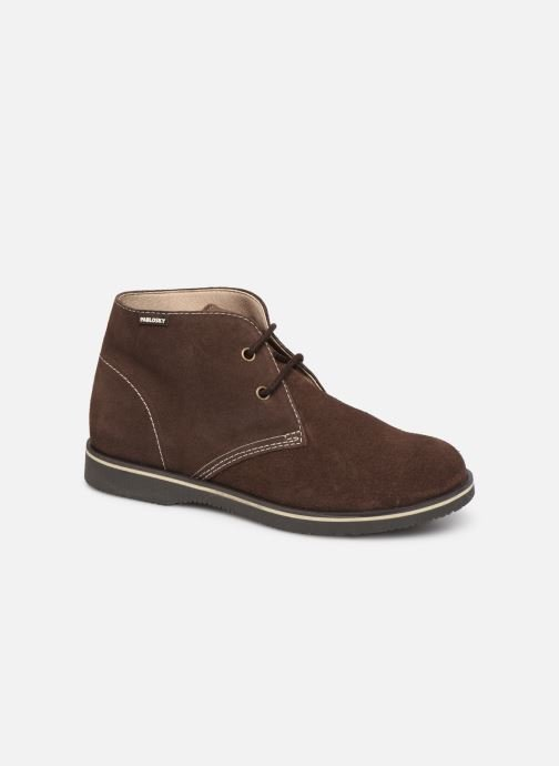 Chaussures à lacets Pablosky Pablo Marron vue détail/paire