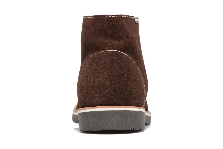 Chaussures à lacets Pablosky Pablo Marron vue droite
