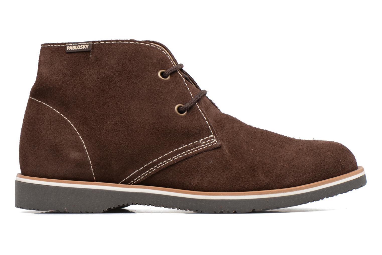Chaussures à lacets Pablosky Pablo Marron vue derrière
