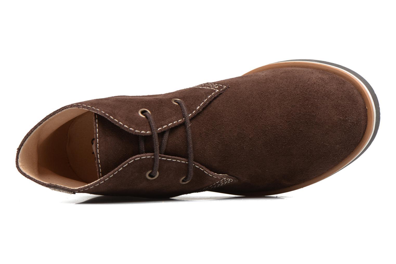Chaussures à lacets Pablosky Pablo Marron vue gauche