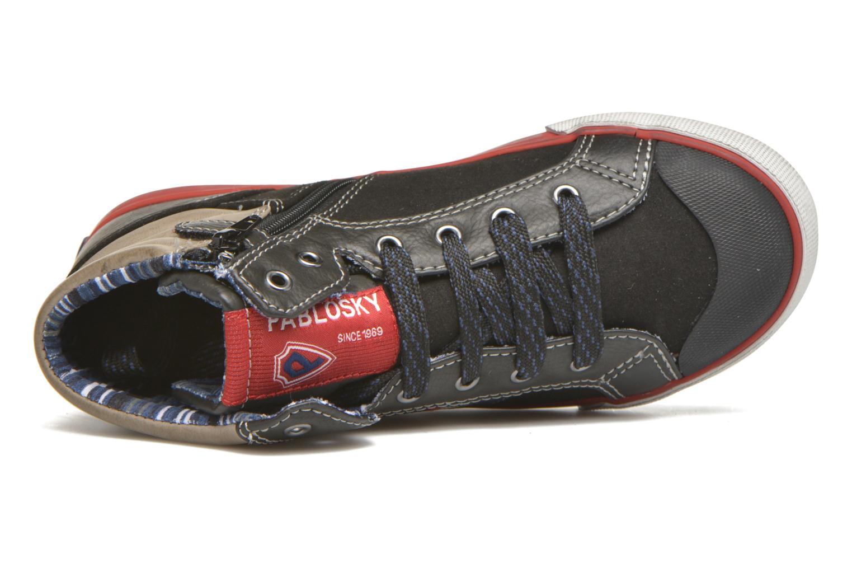 Sneakers Pablosky Luca Zwart links