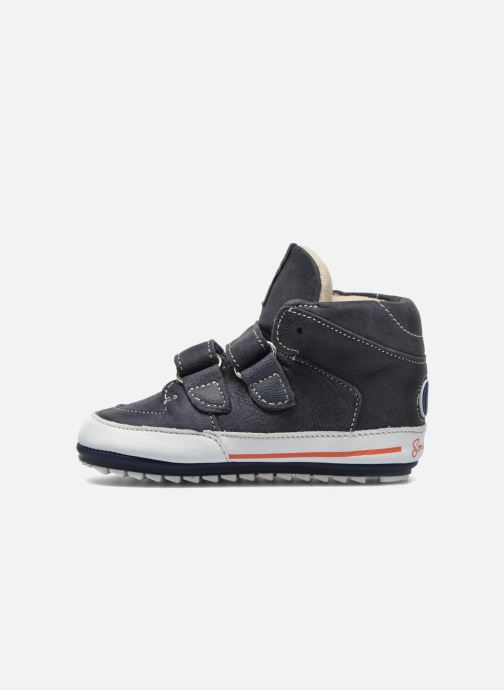 Schoenen met klitteband Shoesme Simon Blauw voorkant