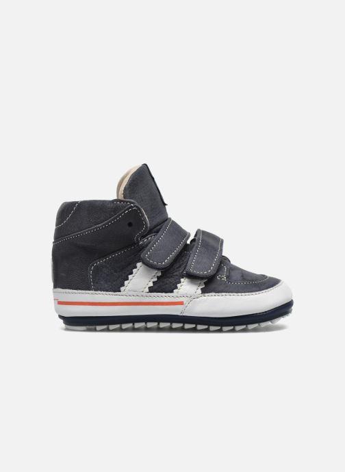 Zapatos con velcro Shoesme Simon Azul vistra trasera