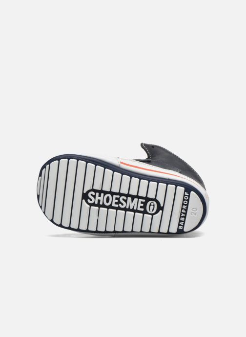 Chaussures à scratch Shoesme Simon Bleu vue haut